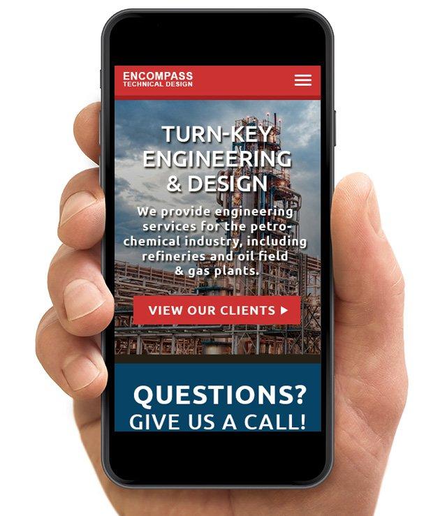 engineering-website-smartphone