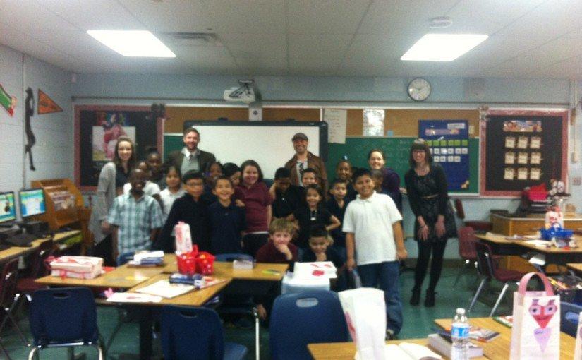 Delivering Dictionaries to Tulsa Third Graders