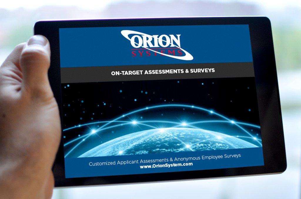 Orion Mobile Website Design