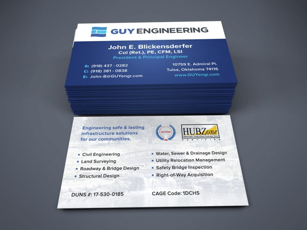 Engineering Business Cards Templates Gallery - Templates Example ...
