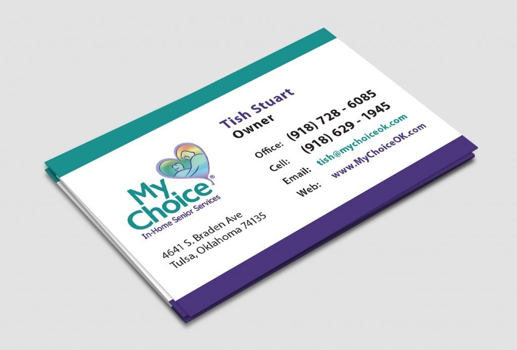 My choice senior services aqua vita for My business card