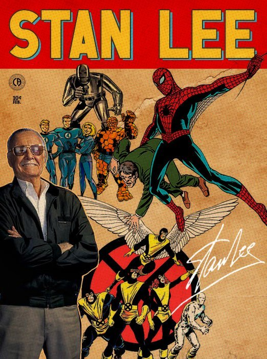 Stan Lee – Design Inspiration