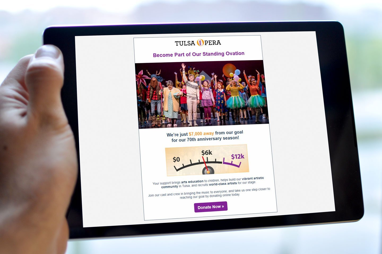 Tulsa Opera Email Design
