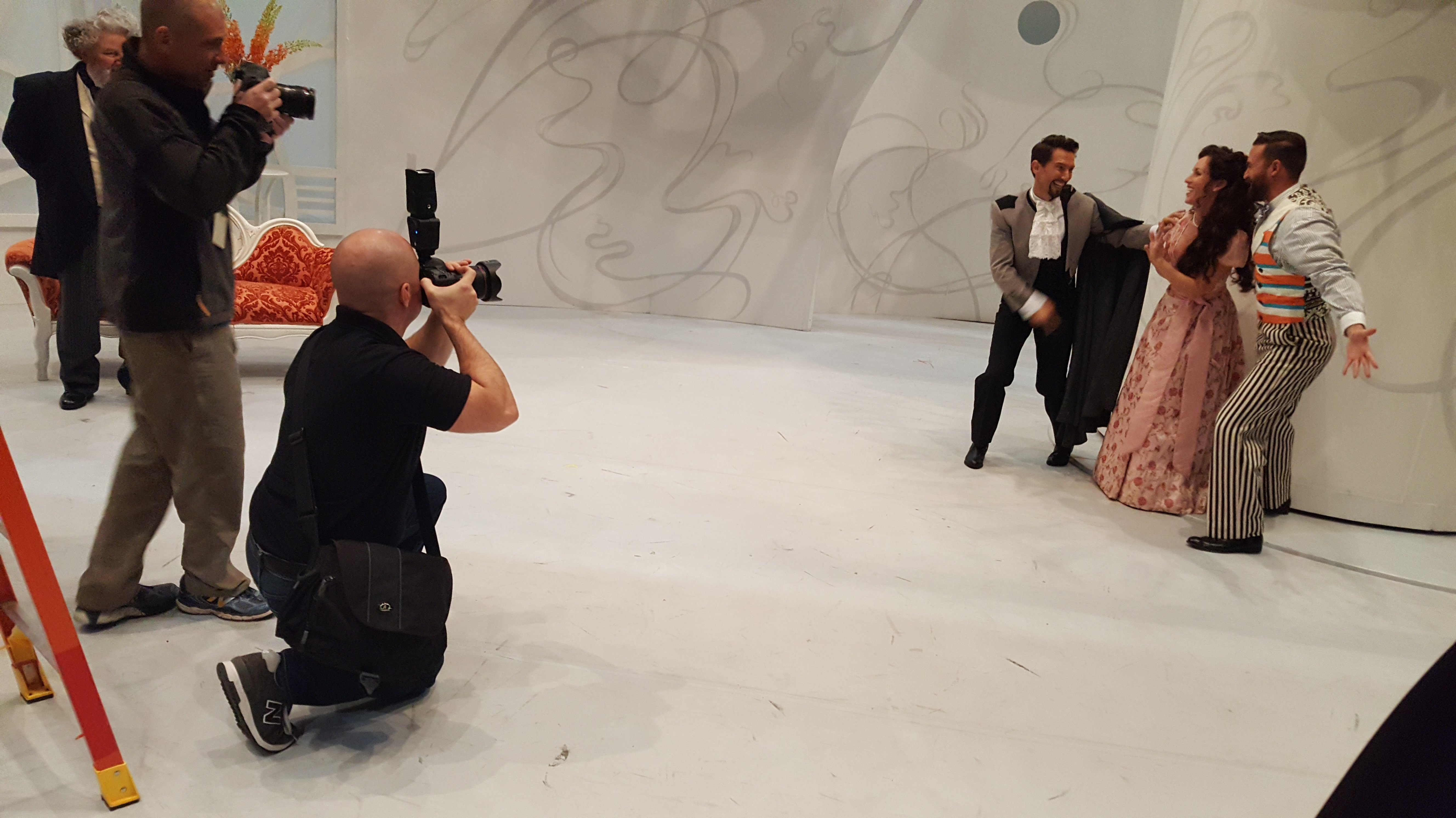 Shooting Behind the Scenes for the Tulsa Opera