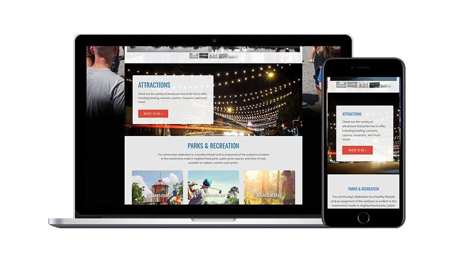 Jenks Chamber Tourism Page