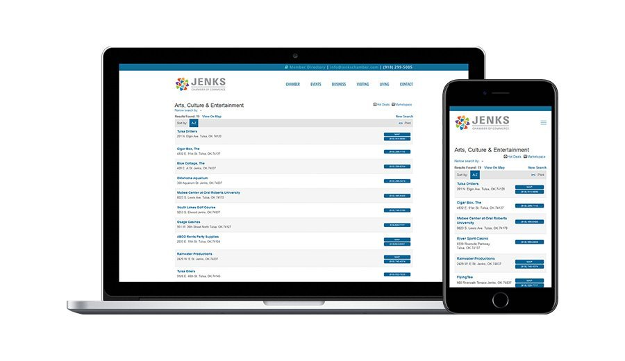Jenks Chamber Member Directory