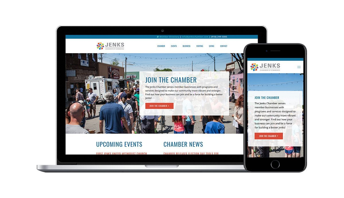 Jenks Chamber Home Page