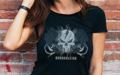 Hook Nation: Line Crew Apparel T-shirt Design