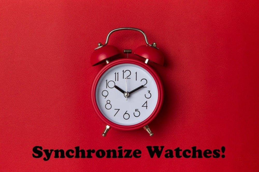 Spring Forward: Synchronize Watches!
